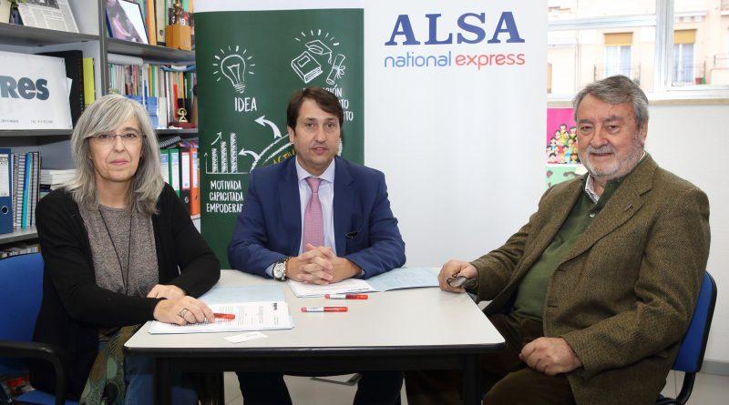 ALSA y la Fundación Mujeres colaborarán en el Fondo de becas Soledad Cazorla