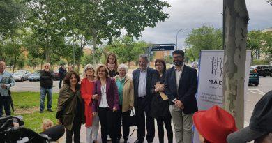 Calle Soledad Cazorla, una calle feminista en el distrito de Latina, Madrid
