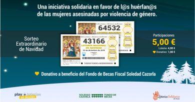 Lotería Solidaria: Colabora con el Fondo de Becas comprando Lotería para el sorteo de Navidad