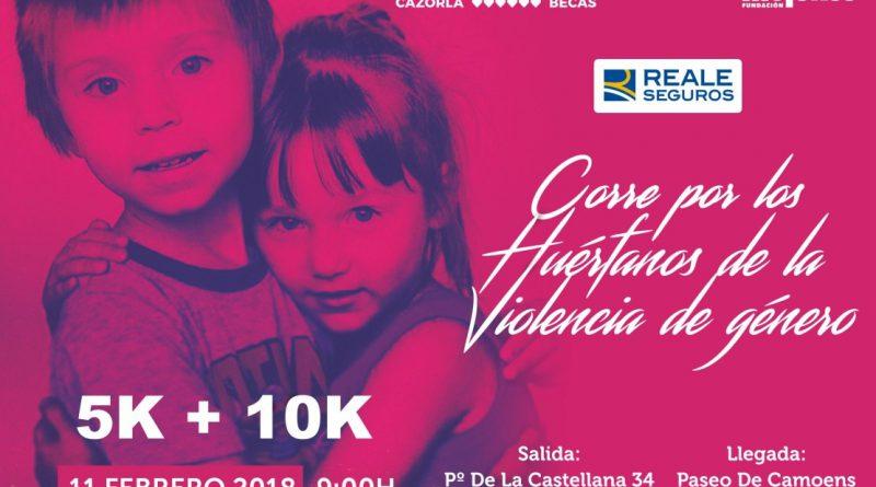 Carrera solidaria 'Corre por los Huérfanos de la Violencia de Género'