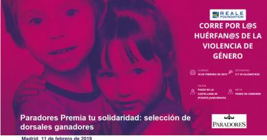 Paradores Premia tu solidaridad: selección de dorsales ganadores