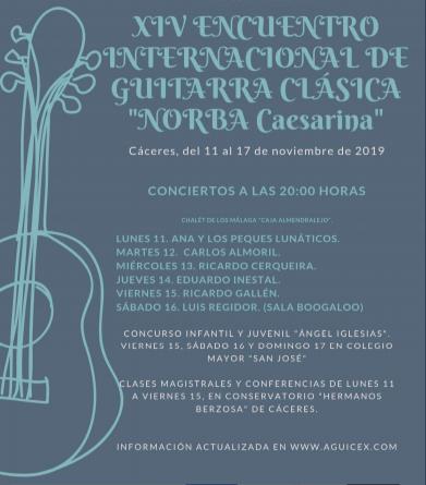 Guitarras solidarias en Cáceres