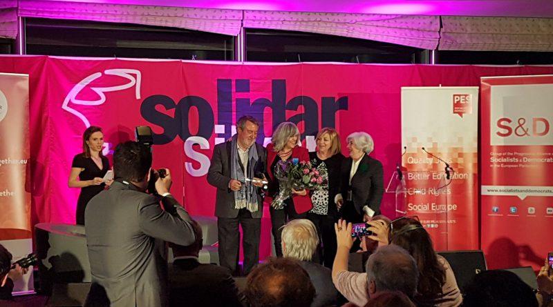 El Fondo de Becas Soledad Cazorla Prieto recibió el premio Silver Rose 2017 en el Parlamento Europeo