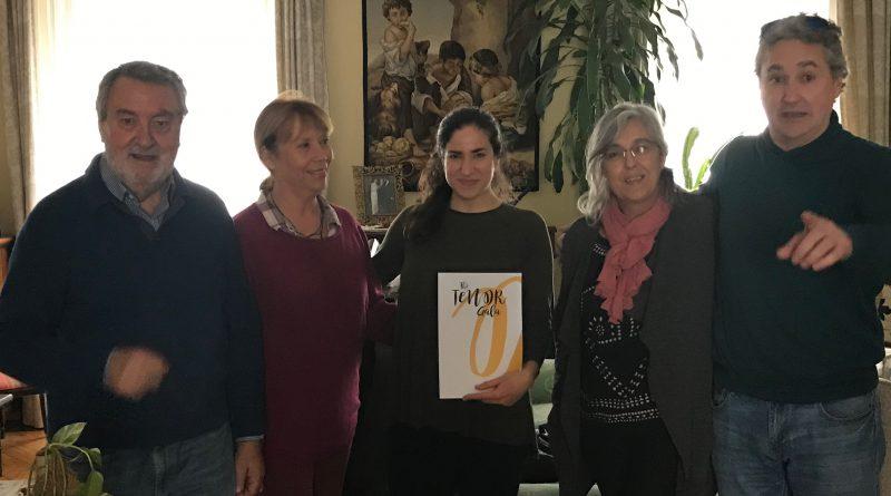 The Tenor Gala hace entrega de un cheque de 4000 euros al Fondo de Becas