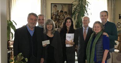 """El Fondo de Becas Soledad Cazorla recibe la recaudación del concierto """"The Tenor Gala"""""""
