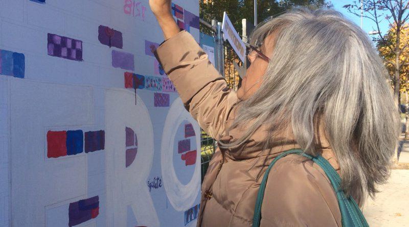 El Arte urbano con los niños y las niñas víctimas de violencia de género