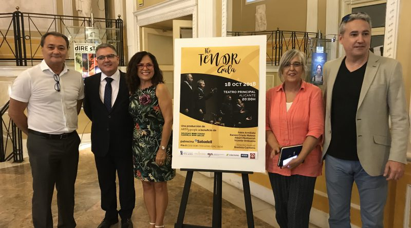 The Tenor Gala. Cuatro tenores cantan por las víctimas de violencia de género