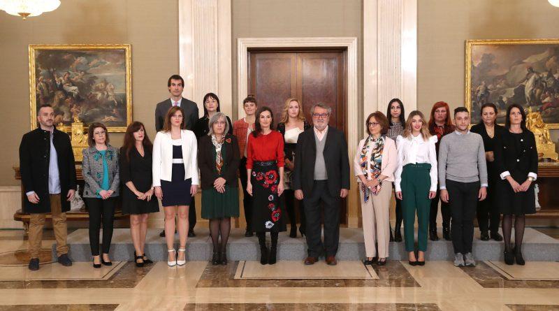 Seguimiendo mediático Audiencia Reina Letizia al Fondo de Becas Soledad Cazorla
