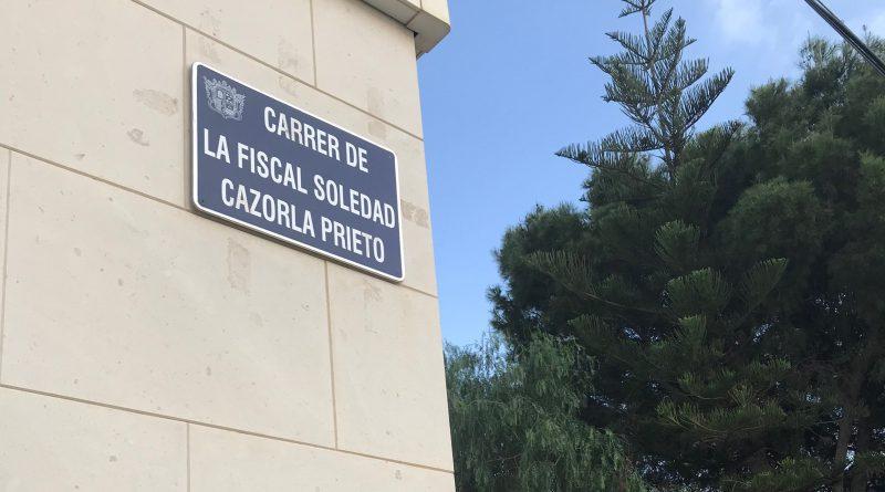 Novelda recuerda a Soledad Cazorla Prieto en el día Internacional de las Mujeres Rurales