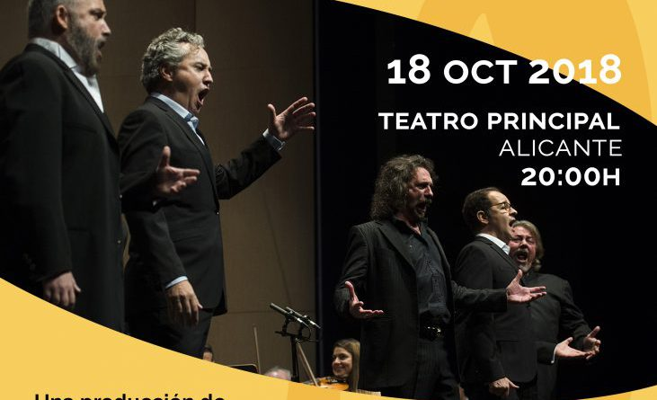 CADENA SER Alicante con The Tenor Gala y la labor del Fondo