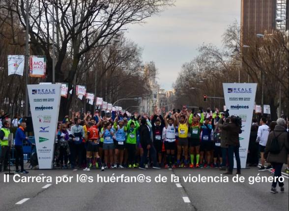 """Reportaje fotográfico de la Carrera """"Corre por los huérfan@s de la violencia de género"""""""