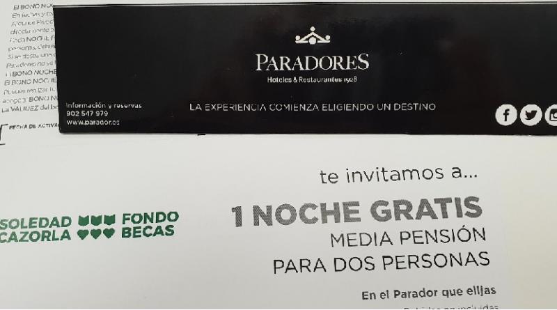 Paradores Premia tu solidaridad: Selección de dorsales ganadores.